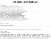 Testimonials: GAP TITAN DX
