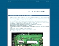 VX-170  VX-177 Mods