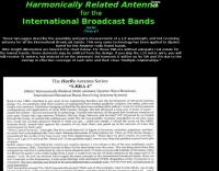 Harmonically Related Antenna