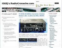I0GEJ  FT-450  Articles