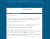IC-7000 Mods