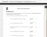 OSgeeks: ICOM IC-7000 Modifications