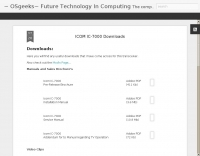 ICOM IC-7000 Downloads