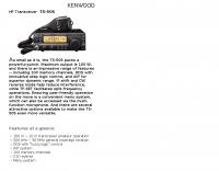 Kenwood: TS-50S HF Transceiver