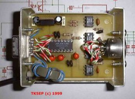 Remote interface for Kenwood transceivers