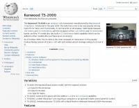 Wikipedia Kenwood TS-2000