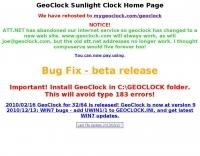 GeoClock