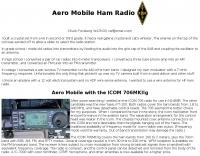 Aero Mobile Ham Radio