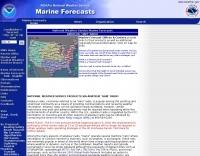 National Weather Service Marine Forecasts