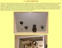 2 x 4-400A Amplifier Deck
