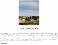 20 Meter Jpole Vertical