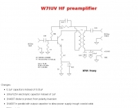 W7IUV HF Preamplifier