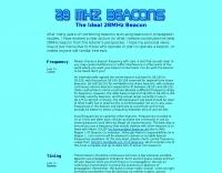 The Ideal 28MHz Beacon
