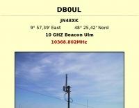 DB0UL 10 GHZ Beacon