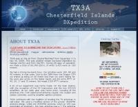 TX3A - Chesterfield Islands