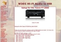 Hi-FI Audio with Yaesu FT-2000