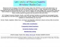 W1PUO UMASS Amherst Ham Radio Club Homepage