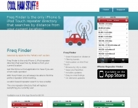 Freq Finder: iPhone Repeater Directory