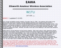 W1TU Ellsworth Amateur Wireless Association