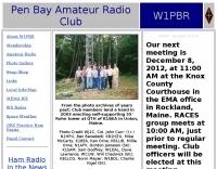 W1PBR Pen Bay Amateur Radio Club