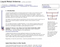 Liquid Metal Antenna
