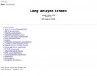 WM5R  Long Delayed Echoes