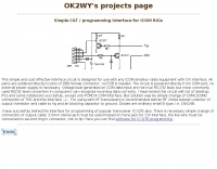 CAT programming interface for ICOM rigs