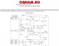 Universal Programming Cable for Radios