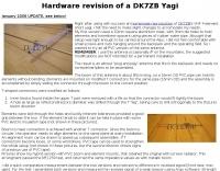 DK7ZB Yagi revisited
