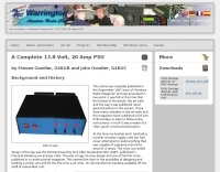 A Complete 13.8 Volt, 20 Amp PSU