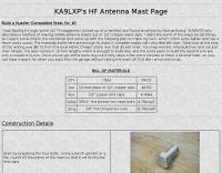 Build a Hustler-Compatible Mast for $5