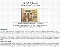 NHRC-2 Based Repeater Controller