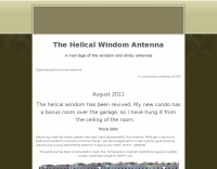 The Helical Windom Antenna