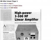 80-10m Linear Amplifier