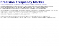 Precision Frequency Marker