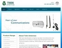 Twin Antennas