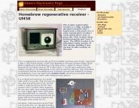 Homebrew regenerative receiver