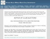 Ottawa Valley Mobile Radio Club