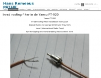 Inrad Roofing Filter in the Yaesu FT-920