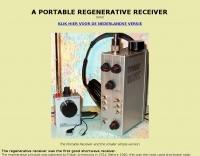 A  Portable Regenerative Receiver