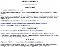OSCAR-11 Satellite