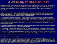 The Doppler Shift