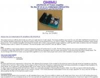 10 11 meters RF Power Amplifier