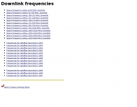 Space frequency listing