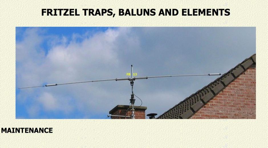 Antenna maintenance by PA0FRI