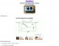 HF/VHF Portable Mini Tuner