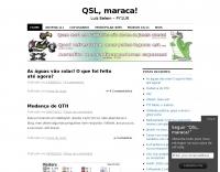 QSL, maraca - PY1UR  Blog