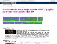YO4PX Francisc Grunberg blog