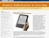 WA3FKG Amateur Radio  Scanner & Linux