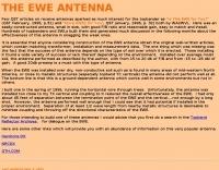 The EWE Antenna